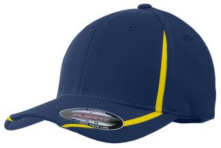 Sport-Tek Flexfit Performance Colorblock Cap.-