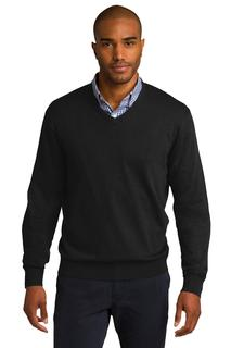 Port Authority® V-Neck Sweater.-Port Authority