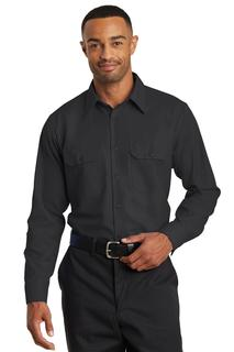 Red Kap® Long Sleeve Solid Ripstop Shirt.