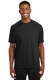 Sport-Tek® Dry Zone® Short Sleeve Raglan T-Shirt.-