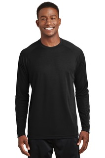 Sport-Tek® Dry Zone® Long Sleeve Raglan T-Shirt.-