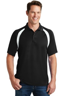 Sport-Tek® Dry Zone® Colorblock Raglan Polo.-