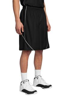 Sport-Tek® PosiCharge® Mesh Reversible Spliced Short.-Sport-Tek