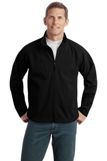 Port Authority® Tall Textured Soft Shell Jacket.-