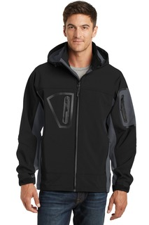 Port Authority® Tall Waterproof Soft Shell Jacket.-
