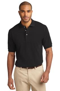 Port Authority Tall Heavyweight Cotton Pique Polo.-