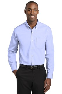 Red House® Tall Pinpoint Oxford Non-Iron Shirt.-Red House