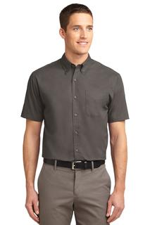 Port Authority® Tall Short Sleeve Easy Care Shirt.-Port Authority