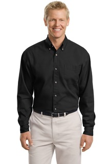 Port Authority® Tall Long Sleeve Twill Shirt.-Port Authority