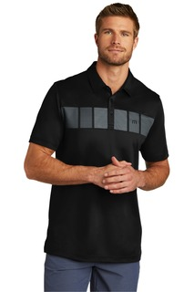 TravisMathew Cabana Chest Stripe Polo.-