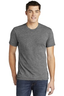 American Apparel Tri-Blend Short Sleeve Track T-Shirt.-