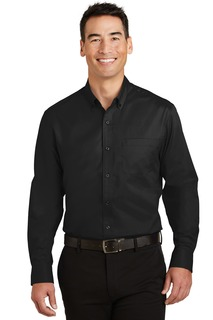 Port Authority Tall SuperPro Twill Shirt.-