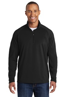 Sport-Tek® Tall Sport-Wick® Stretch 1/2-Zip Pullover.-