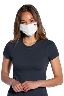 Port Authority ® All-American Cotton Knit Face Mask 5 pack (100 packs = 1 Case).-Port Authority