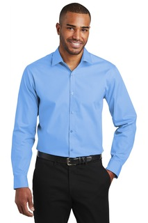 Port Authority ® Slim Fit Carefree Poplin Shirt.-