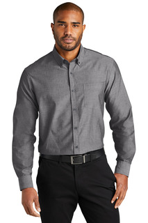 Port Authority Long Sleeve Chambray Easy Care Shirt-