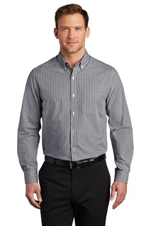 Port Authority Broadcloth Gingham Easy Care Shirt-