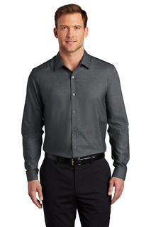 Port Authority ® Pincheck Easy Care Shirt-