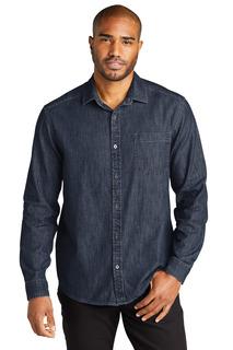 Port Authority Long Sleeve Perfect Denim Shirt-Port Authority
