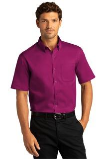 Port Authority Short Sleeve SuperPro React Twill Shirt.-Port Authority