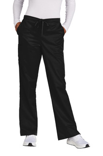 WonderWink Petite WorkFlex Flare Leg Cargo Pant-Jerzees