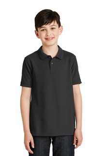 Port Authority® Youth Silk Touch Polo.-Port Authority