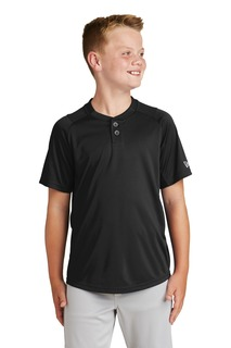 New Era Youth Diamond Era 2-Button Jersey.-