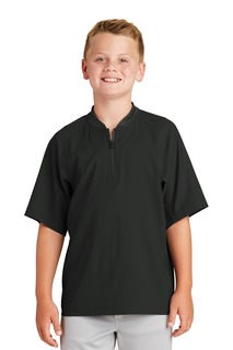 New Era ® Youth Cage Short Sleeve 1/4-Zip Jacket.-