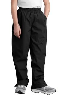 Sport-Tek Activewear Athletic/Warm-Ups Sport-Tek® Youth Wind Pant.-Sport-Tek