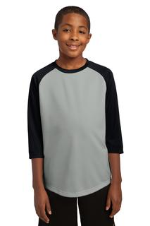Sport-Tek® Youth PosiCharge® Baseball Jersey.