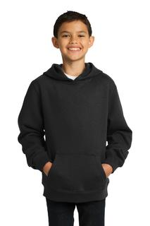 Sport-Tek Youth Pullover Hooded Sweatshirt.-