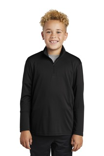 Sport-Tek ® Youth PosiCharge ® Competitor 1/4-Zip Pullover.-