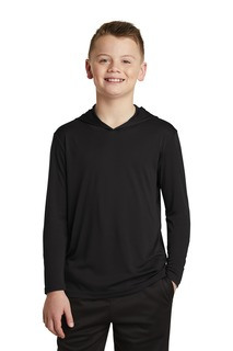 Sport-Tek Hospitality Youth T-Shirts ® Youth PosiCharge ® Competitor Hooded Pullover.-Sport-Tek