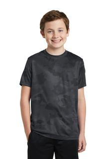 Sport-Tek® Youth CamoHex Tee.-