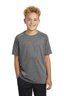 Sport-Tek ® Youth PosiCharge ® Tri-Blend Wicking Raglan Tee.-