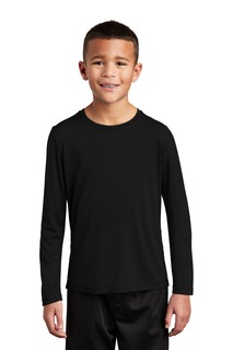 Sport-Tek ® Youth Posi-UV Pro Long Sleeve Tee.-Sport-Tek