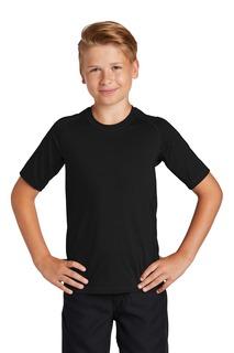 Sport-Tek ® Youth Rashguard Tee.-Sport-Tek