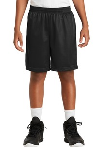 Sport-Tek Youth Activewear for Hospitality ® Youth PosiCharge® Classic Mesh Short.-Sport-Tek