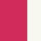Pink Raspberry / White