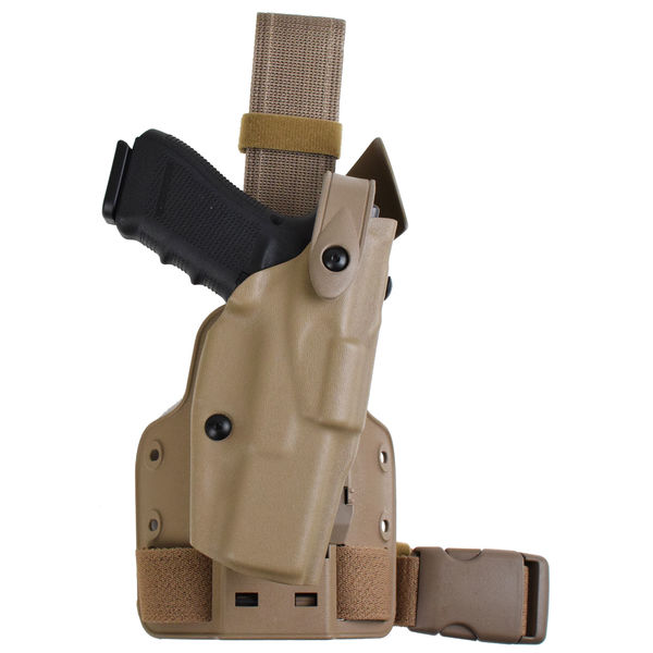 6304 ALS®/SLS Tactical Holster Drop-Rig Tactical Holster with ALS® and SLS™-Safariland