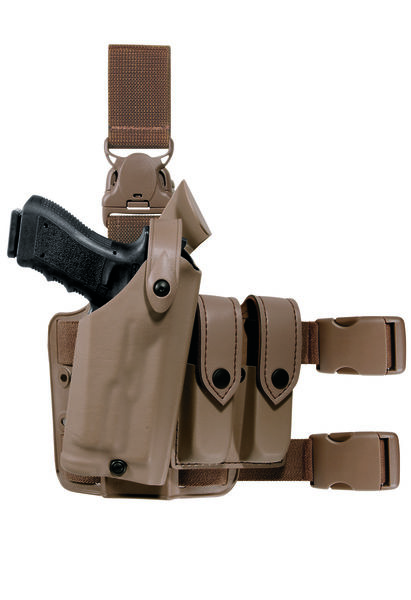Model 6005 SLS Tactical Holster with Quick-Release Leg Strap-Safariland