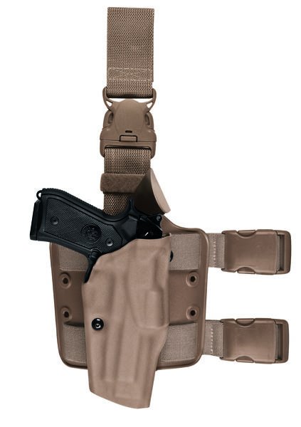 ALS® OMV Tactical Holster w/ Quick-Release with Light attachment-Safariland