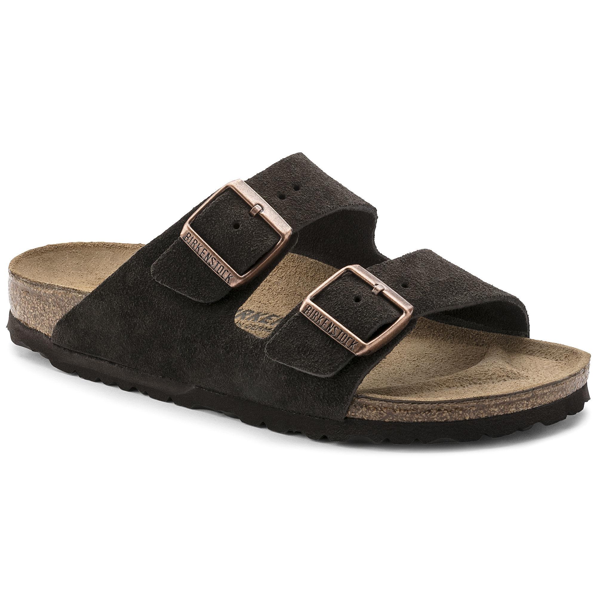 Birkenstock Arizona Mocha Suede Sandals