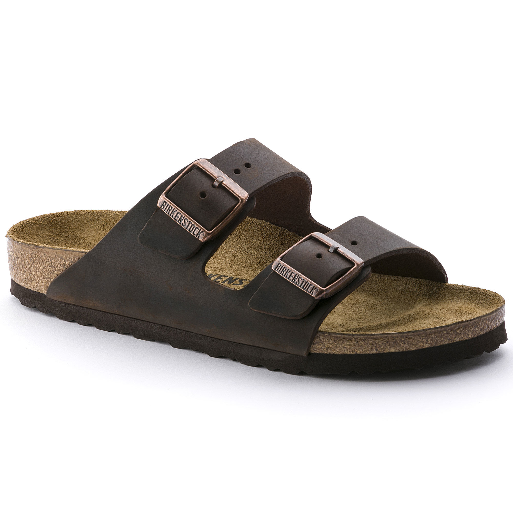 Birkenstock Arizona Habana Leather Sandals
