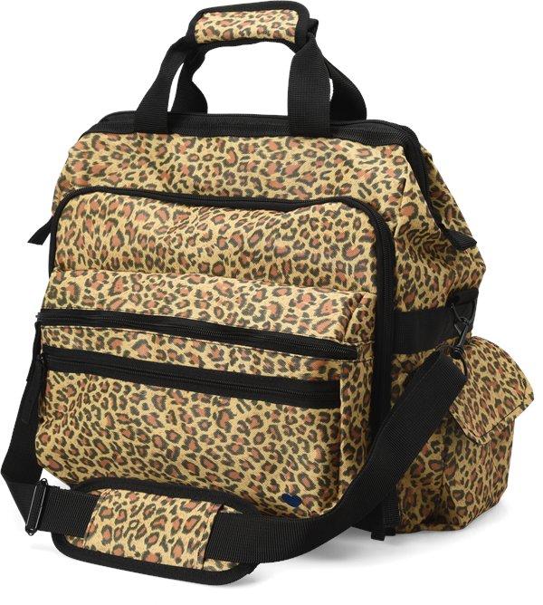 Nurse Mates Leopard Ultimate Nursing Bag-NMA
