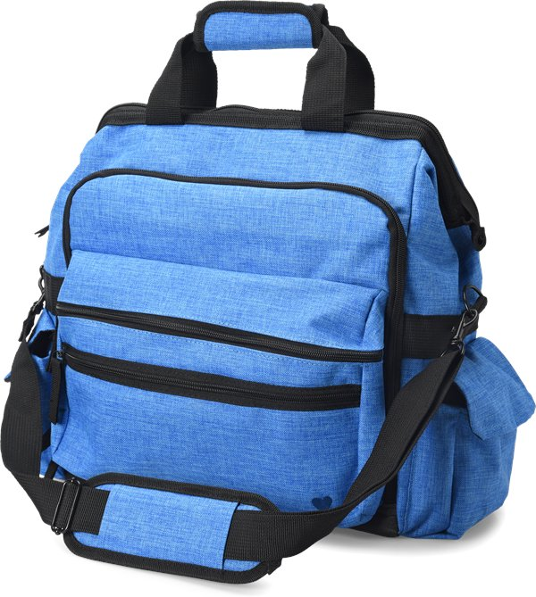 Nurse Mates Electric Blue Ultimate Nursing Bag-NMA
