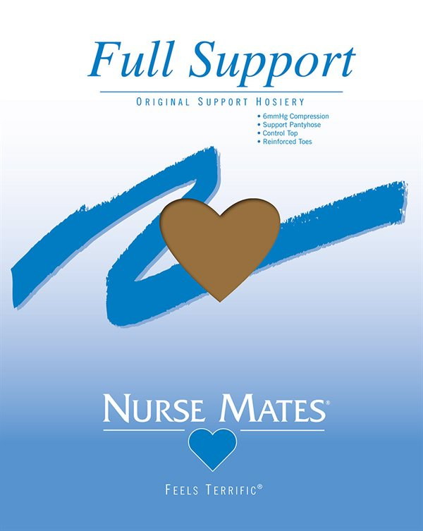 Nurse Mates Honey Beige Full Support Pantyhose