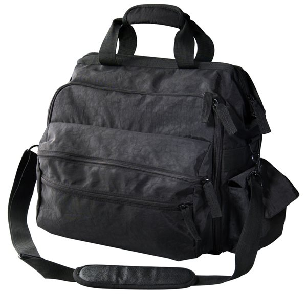 Nurse Mates Black Ultimate Nursing Bag-NMA