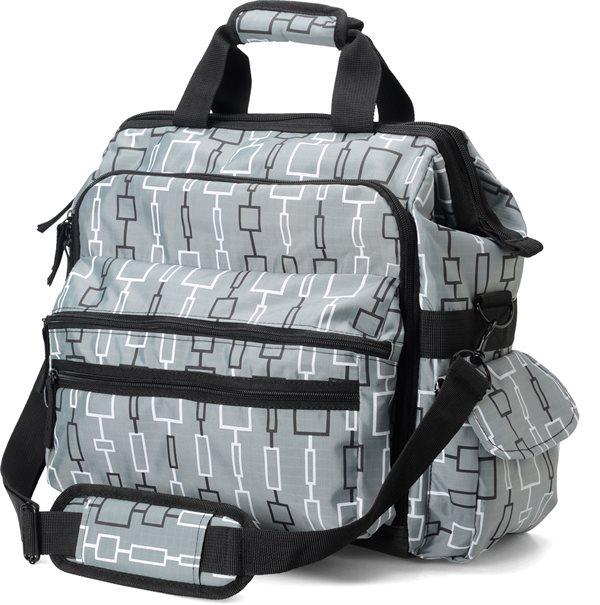 Nurse Mates Geo Cubes Ultimate Nursing Bag