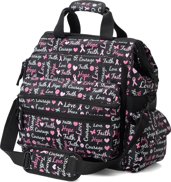 Nurse Mates Hope for the Cure Ultimate Nursing Bag-NMA